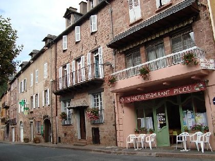Restaurant PICOU - façade, Restaurant PICOU
