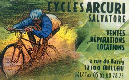 Cycles Arcuri - Location, Comité Départemental du Tourisme de l'Aveyron
