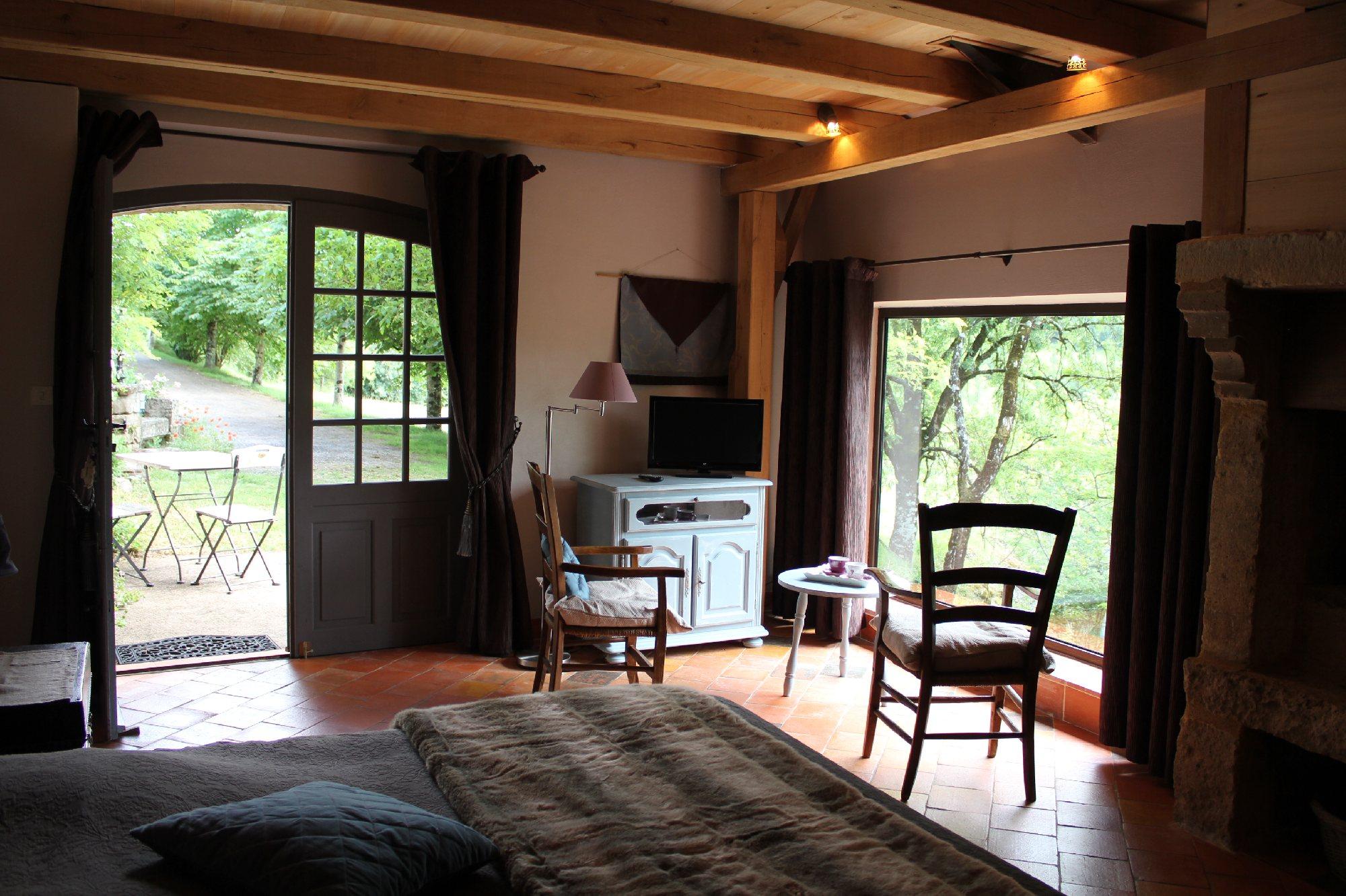 Les terrasses de labade chambres d 39 h tes coubisou - Chambre d hotes en aveyron ...
