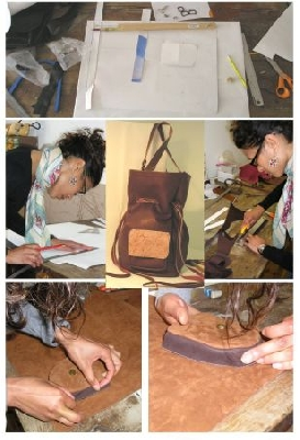 Atelier Romy : travail du cuir, stages et formations.