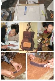 Atelier Romy : travail du cuir, stages et formations.
