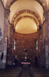 Eglise romane Saint-Blaise de Clairvaux