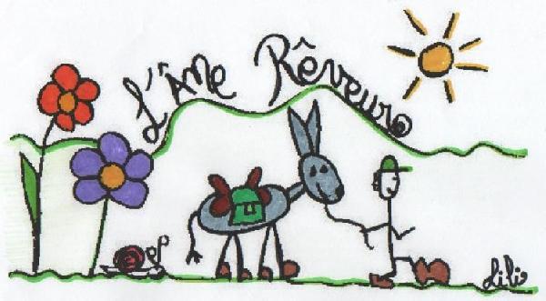 L'Ane Rêveur - Balade avec des ânes bâtés