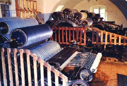 Visite d'une ancienne filature de 1900