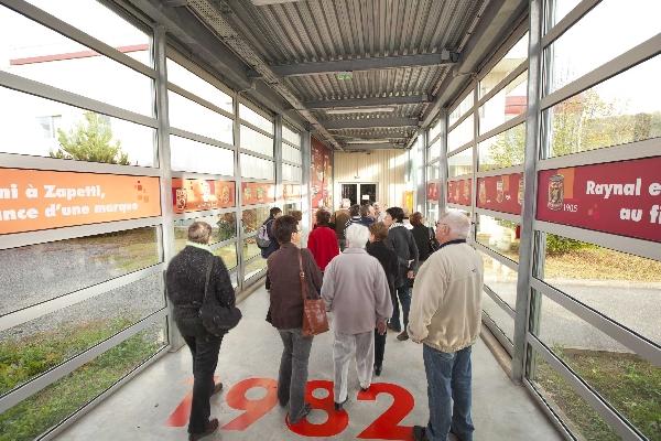Visite de l'entreprise Raynal et Roquelaure