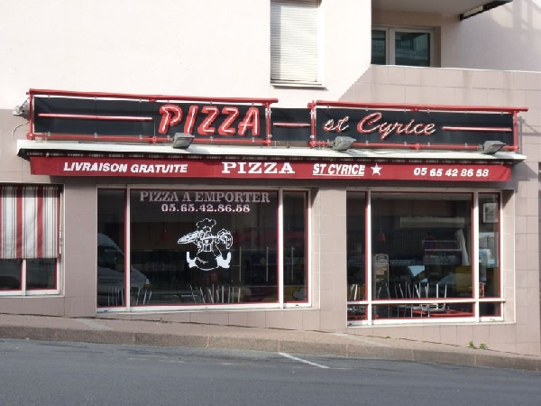 Pizza Saint Cyrice