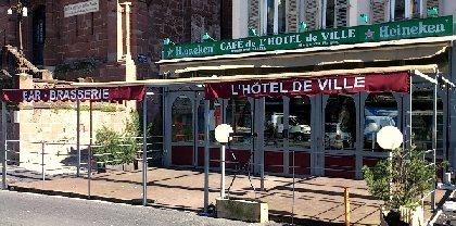 Brasserie de l'Hôtel de Ville, OFFICE DE TOURISME DU CANTON D'ESPALION