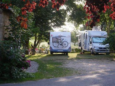 Aire de camping-car à la ferme du Camp Grand