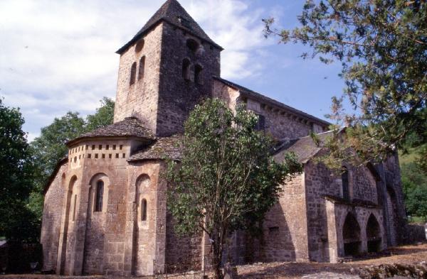 Église romane de Canac