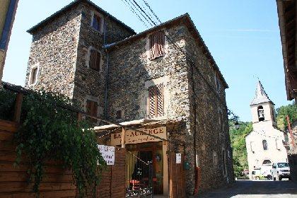 Gîte de La Tour dans le village d'Ayssènes, commune d'Ayssènes