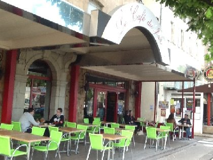Le Café du Jardin, OFFICE DE TOURISME DU SAINT AFFRICAIN