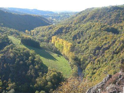 Un méandre dans les gorges de l'Aveyron, ACRC