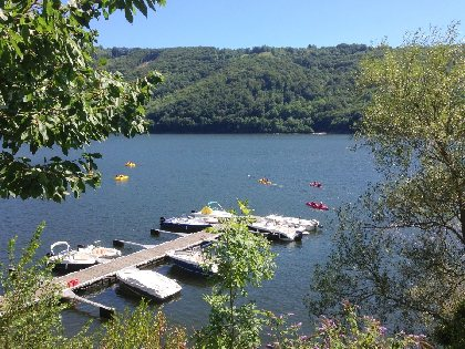 Location de pontons pour bateaux, Camping La Source