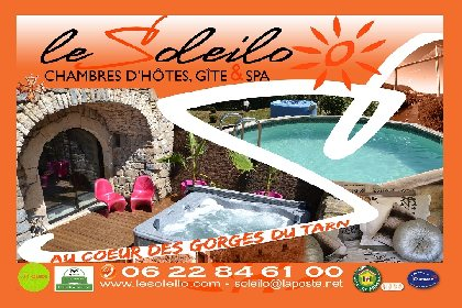 Le Soleilo, chambres d'hôte, gîte, spa