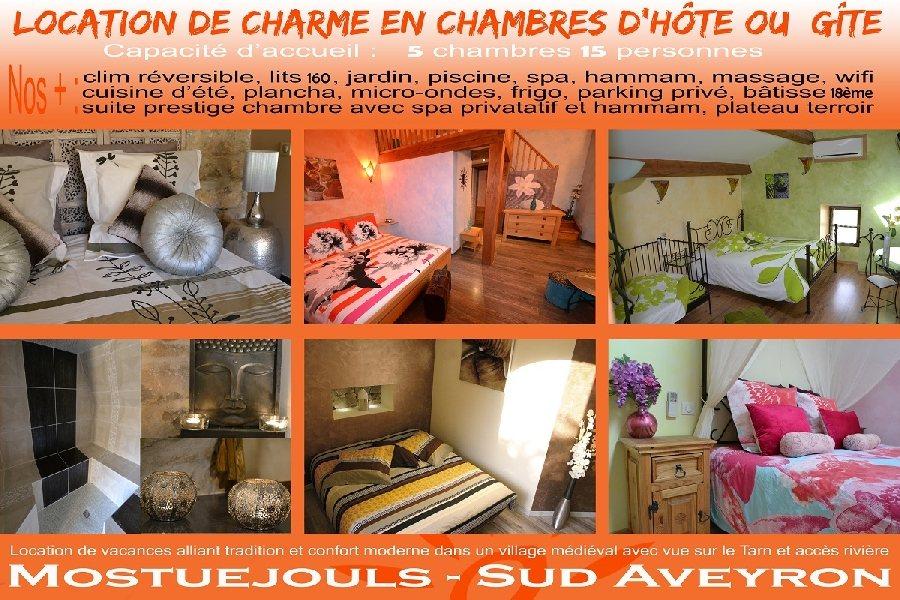 Le Soleilo, chambres d\'hôte, gîte, spa | Tourisme Aveyron