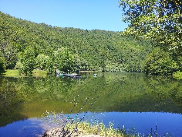 La pêche sur le secteur de St Geniez d'Olt