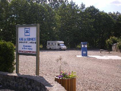 AIRE DE CAMPING-CAR MUNICIPALE FLOT BLEU, Comité Départemental du Tourisme de l'Aveyron