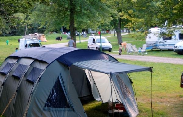 Camping vert Chez Fanny et Jérémy