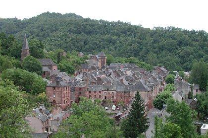 Découverte du village de Villecomtal