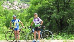 Cyclotourisme : Circuit de Villecomtal - Conques, Comité Départemental du Tourisme de l'Aveyron