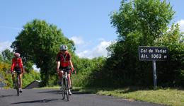 Cyclotourisme : Le Col de Verlac