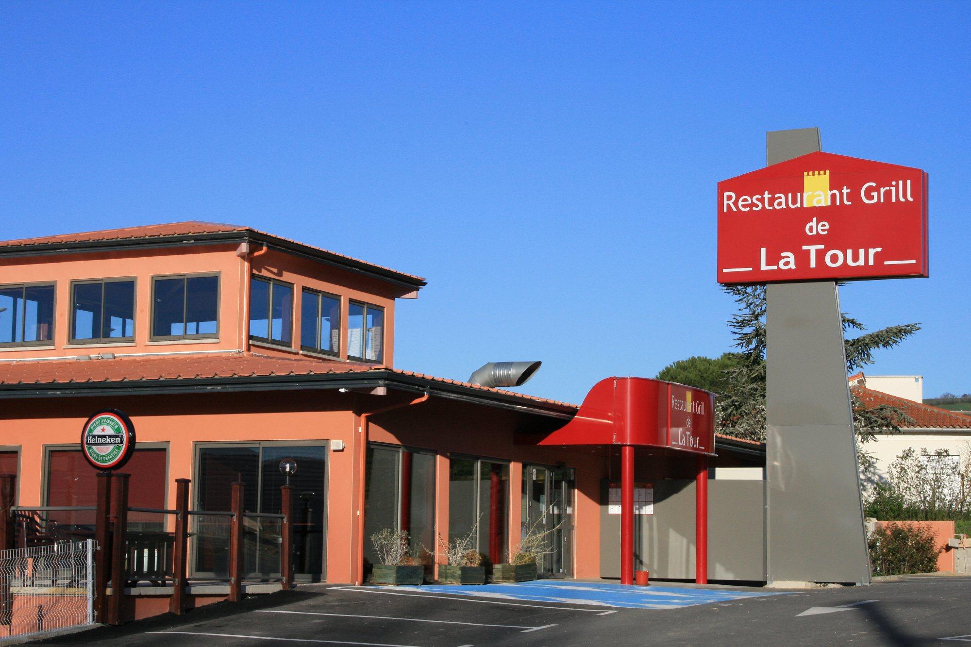 Restaurant Grill De La Tour