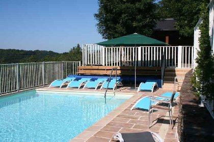 piscine vue côté ouest, SYNDICAT D'INITIATIVE DES 7 VALLONS