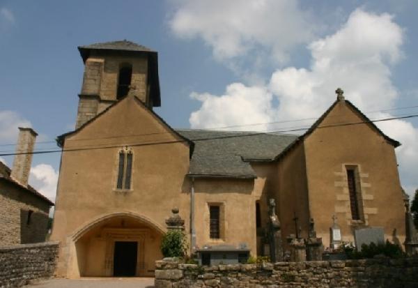 Journées Européennes du Patrimoine : visite de l'Eglise St Maurice d'Anglars (Bertholène)