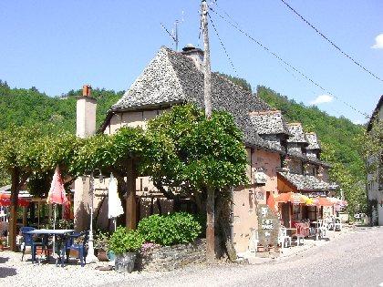CHEZ MARIE Café-Restaurant, OFFICE DE TOURISME de CONQUES