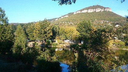 CAMPING LARRIBAL au bord du Tarn, au pied de la Pouncho d'Agast, CAMPING LARRIBAL