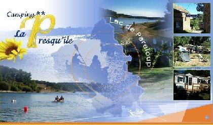 CAMPING LA PRESQU'ILE - Lac de Pareloup