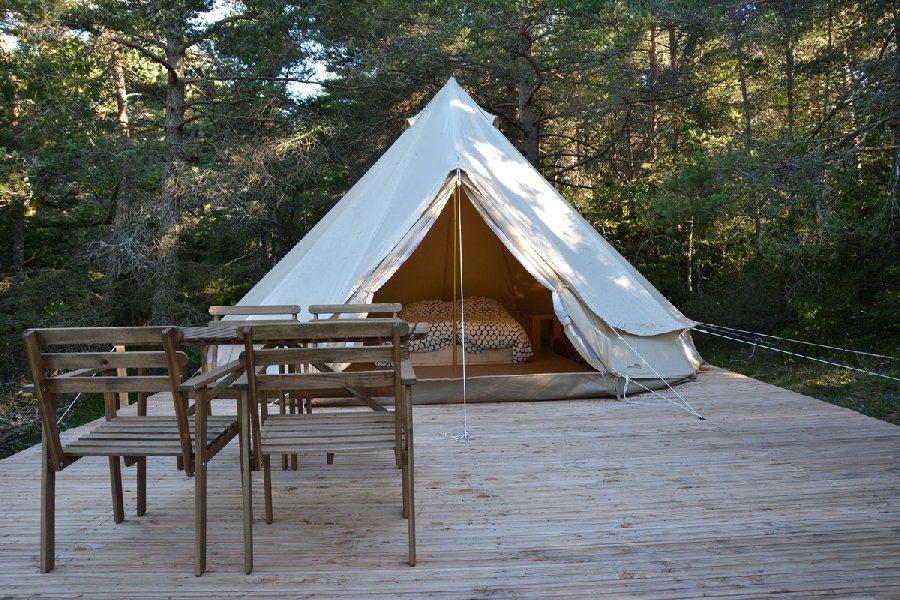 eco camping du larzac millau camping tourisme aveyron. Black Bedroom Furniture Sets. Home Design Ideas