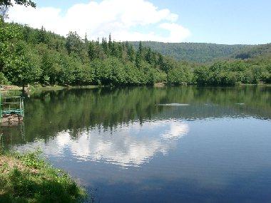 Lac des Picades - Pêche à la truite, Fédération de pêche de l'Aveyron