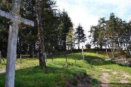 Parcours des croix sur le GR 65