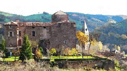 Château de Saint-Izaire et Musée de l'archerie, OFFICE DE TOURISME DU PAYS DE ROQUEFORT ET DU ST-AFFRICAIN