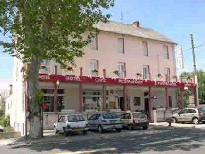 Façade de l'hôtel restaurant, Le Flambadou
