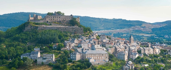 Cyclotourisme dans l'Est Aveyron