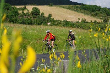 Cyclotourisme dans l'Est Aveyron, Office de Tourisme Des Causses à l'Aubrac