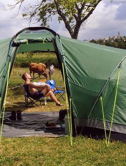 Camping à la ferme des Tronques