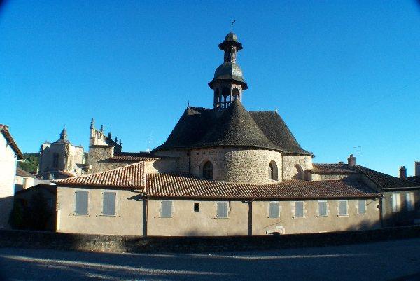 Chapelle des p nitents noirs tourisme aveyron - Office de tourisme villefranche de rouergue ...