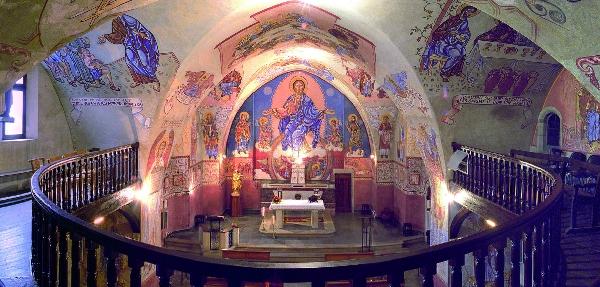 Église de Saint-Victor et fresques de Nicolaï Greschny