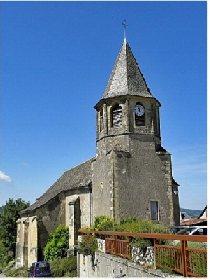 Église de Mandailles, OFFICE DE TOURISME INTERCANTONAL SAINT GENIEZ  / CAMPAGNAC