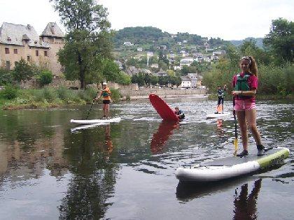 Stand Up Paddle en rivière avec l'ASVOLT