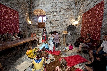 Château de Valon : animation costumée