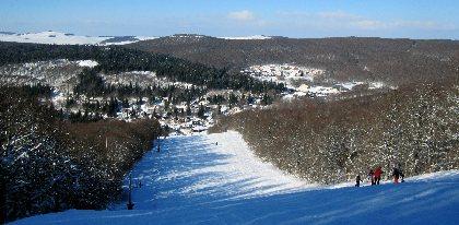 Station de ski de Brameloup ski alpin, Station Brameloup