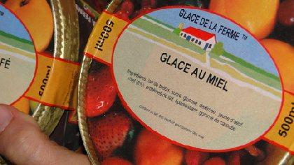 Des glaces de la ferme, au lait de brebis, OFFICE DE TOURISME DE SALLES CURAN - PARELOUP