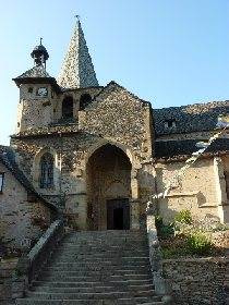 Eglise Saint Fleuret, Office de Tourisme Espalion-Estaing
