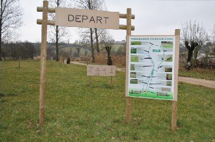 Parcours de Santé de Coussergues, OFFICE DE TOURISME DU LAISSAGAIS