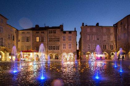 Place Notre-Dame - Fontaine et carillon