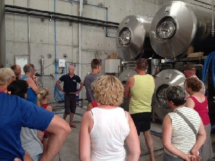 F'Estivales du Lot à l'Aubrac : visite de la Brasserie d'Olt